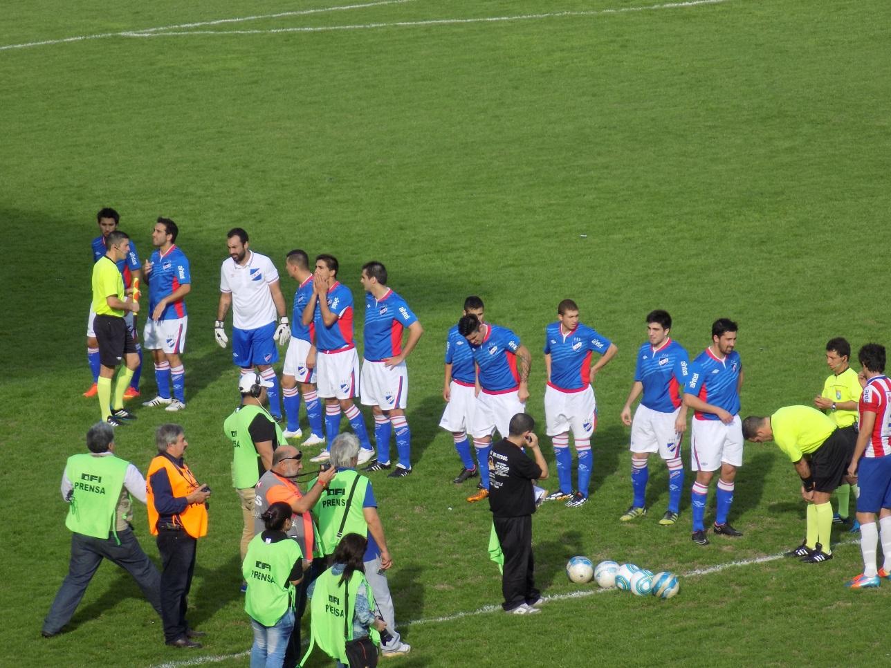 Nacional en Maldonado ante San Carlos en la Copa 2015